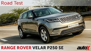 Land Rover Range Rover Velar India Review | First Drive | autoX