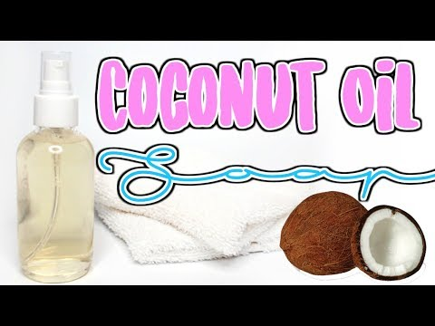 How To Castile Soap - Clear Coconut Oil Liquid Soap Ι TaraLee