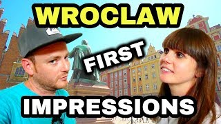 Wroclaw POLAND FIRST IMPRESSIONS!!! Polish Travel Guide 2019 - European Vlogs - PL