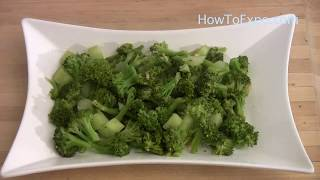 Garlic Broccoli Salad Recipe