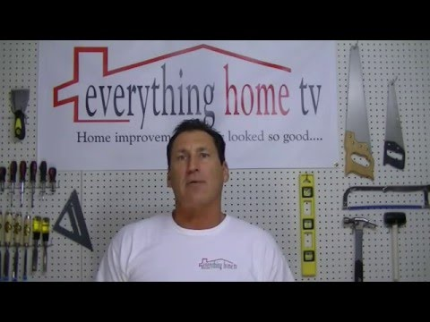 Fixing Stripped Door Hinge Screw Holes  By: Everything Home TV