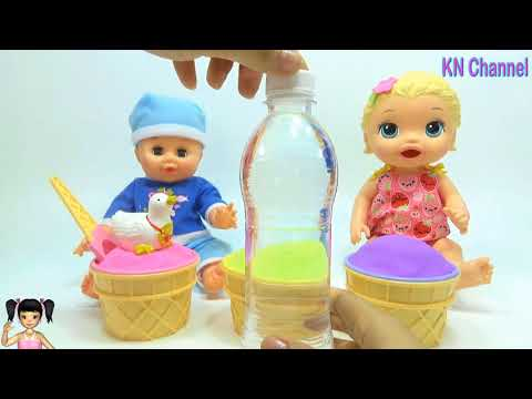 BabyBus - Tiki Mimi và Trò Chơi món quà bất ngờ trong những ly kem động lực khổng lồ