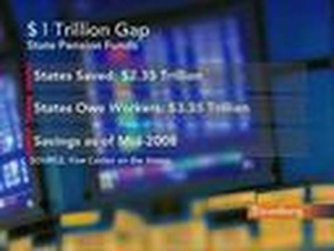 Pew Center Says U.S. State Pension Gap Over $1 Trillion: Video