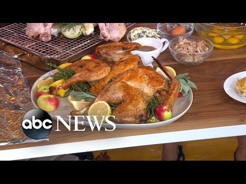 Willie Moore Jr. - YUM!! WATCH THIS! Chef Michael Symon shares 3 twists on Thanksgiving turkey