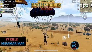 """PUBG MOBILE   RON WITH SUBS SQUAD """"17 KILLS"""" IN MIRAMAR MAP[NO COMMANTORY]"""