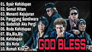 Godbless Full Album | Syair Kehidupan | Panggung Sandiwara | Menanti Kejujuran | Gong 2000 |Pop 90an