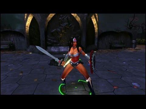 Wonder Woman - Infinite Crisis - Champion Profile