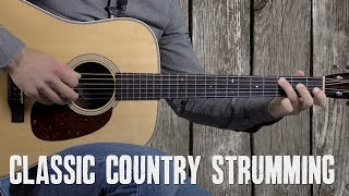 Easy Classic Country Strumming Guitar Lesson - Strumming in the Style of Tom T. Hall