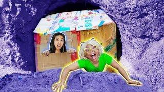 บ้าน กล่องกระดาษใต้ดิน 📦💖 ชิคกี้พาย ft. Dr. Montri