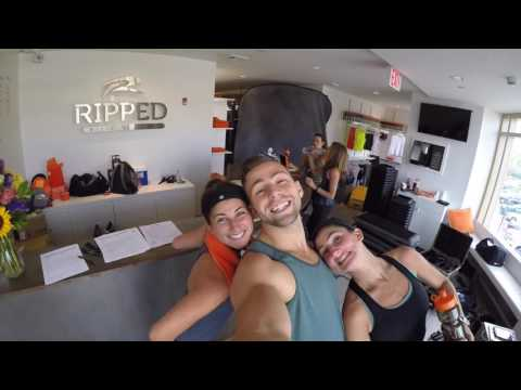 Ripped Fitness UES BTS Promo Video