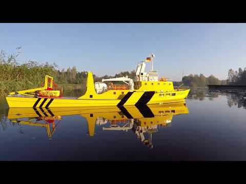 """Heiko´s gorgeous Research Vessel """"Odysseus"""" - including underwater footage"""