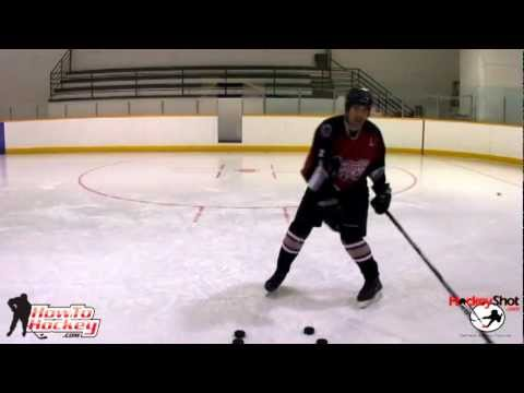 3 Easy ways to Improve Your Shot Power - How To Hockey