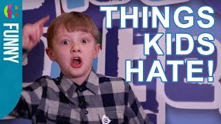 Ned Woodman On Things That Kids Hate!