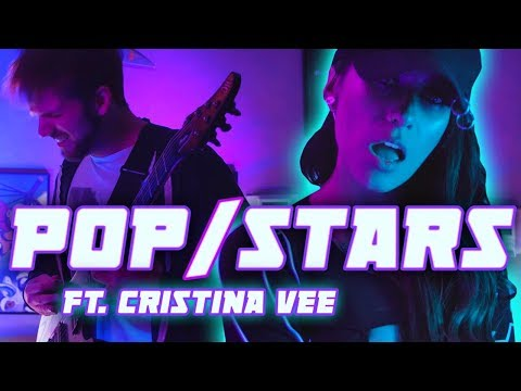 K/DA - POP/STARS || METAL COVER by RichaadEB & Cristina Vee