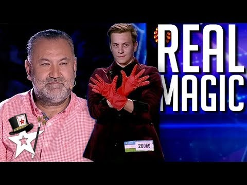 Young Magician DISAPPEARS On Central Asia's Got Talent 2019 | Magicians Got Talent