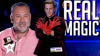Young Magician DISAPPEARS on Central Asia's Got Talent 2019 | Magicians Got Talent Video