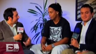 Ronaldinho hace sus primeras declaraciones como jugador de Querétaro / Vianey Esquinca