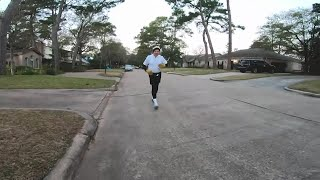 85-year-old man competes in his 40th Houston Marathon