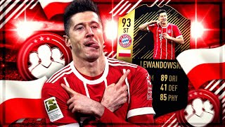 FIFA 18: 93 LEWANDOWSKI Squad Builder BATTLE vs NoHandGaming 💥💥