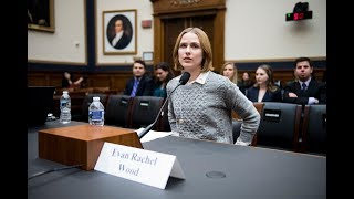 """""""westworld"""" actress evan rachel wood testified before the house judiciary subcommittee on crime, terrorism, homeland security and investigations tuesday, ..."""