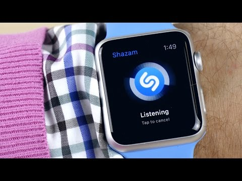 Приложения на Apple Watch: Instagram, Twitter, Shazam, Uber...