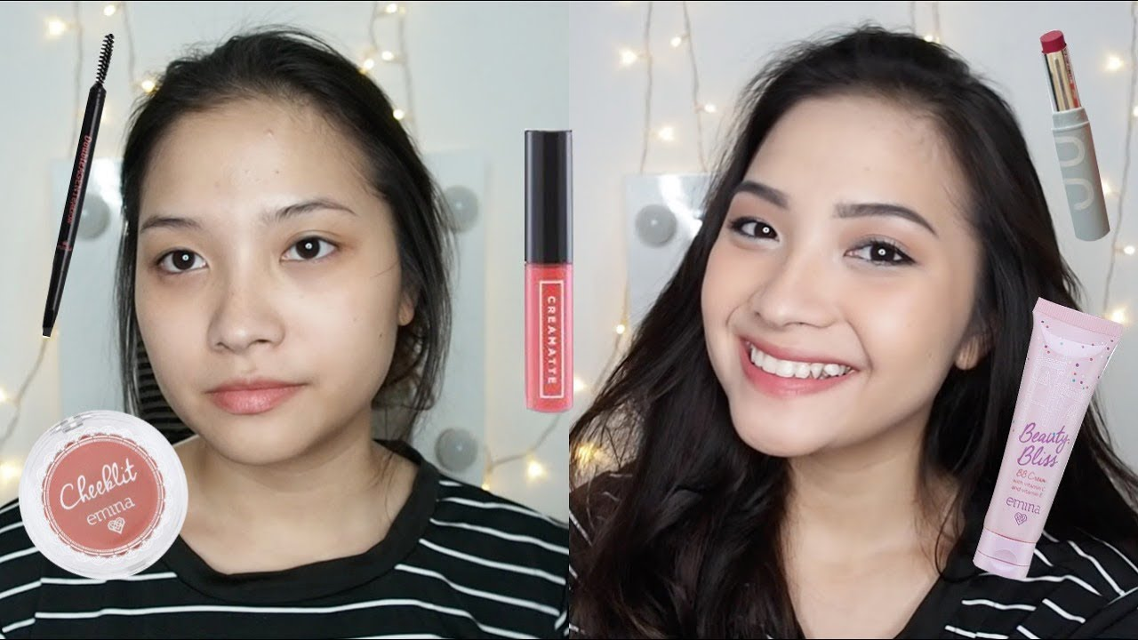 Emina One Brand Tutorial Review Youtube Bare With Me Mineral Compact Powder