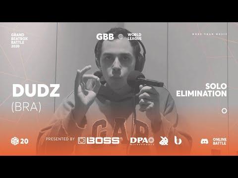 Dudz | Grand Beatbox Battle Online 2020 | Solo Elimination #2