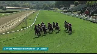 Vidéo de la course PMU GRAN PREMIO DE DONOSTIA- SAN SEBASTIAN