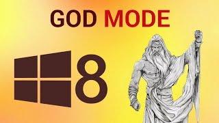 God Mode in Windows 8
