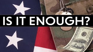 Can You Live Off Military Retirement?? | How Much Do You Get??