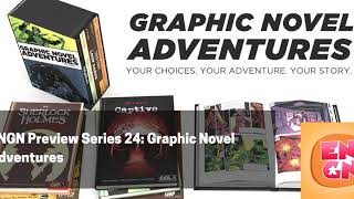 Preview Series 24 - Graphic Novel Adventures from Van Ryder Games