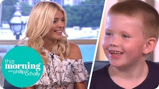 Holly and Phillip Are Amazed by 6-Year-Old Boy With an Incredible Memory   This Morning