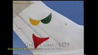 East West Airlines 1990
