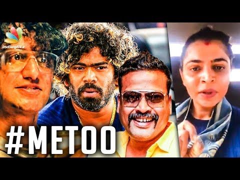 Celebrities Accused for Sexual Harassment | Me Too Movement, Chinmayi