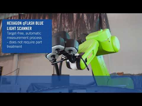 FANUC Collaborative Robot Used in Fenceless 3D Metrology Inspection System – AMT & Hexagon