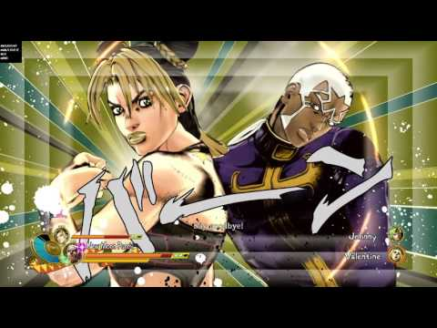 JoJo's Bizarre Adventure: Eyes of Heaven - C-Moon Pucci & Jolyne Vs. Funny Valentine & Johnny