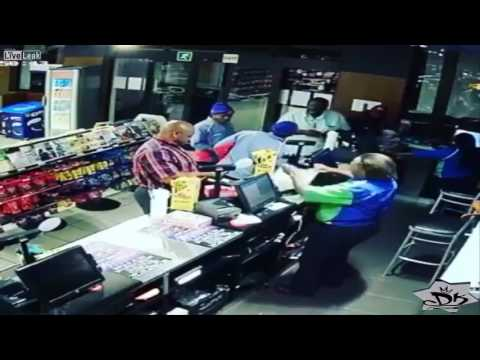 Store fight escalates to a one punch KO