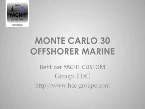 MONTE CARLO 30 OFFSHORER REFIT YACHT CUSTOM