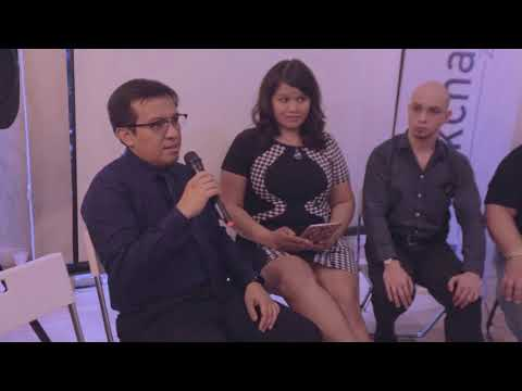 Blockchain Zoo 's joint press conference with Otoritas Jasa Keuangan
