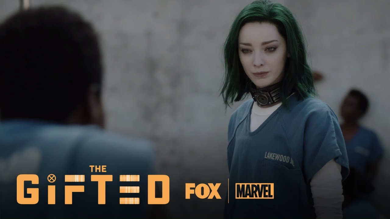 Lorna Makes Her Way To The Prison Yard | Season 1 Ep. 2 | THE GIFTED
