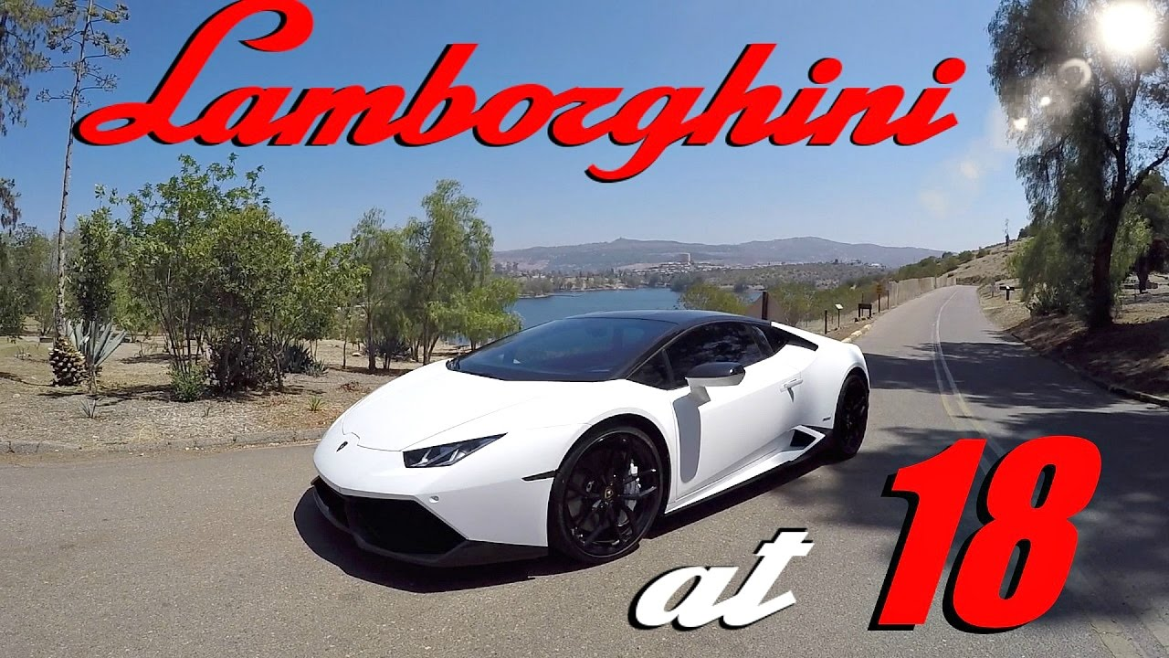 he bought a lamborghini huracan at 18 youtube. Black Bedroom Furniture Sets. Home Design Ideas