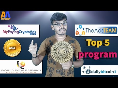 Top 5 make money program Revshare ,binary, cryptocurrency 2017