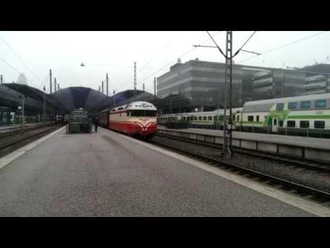 Ski train Helsinki