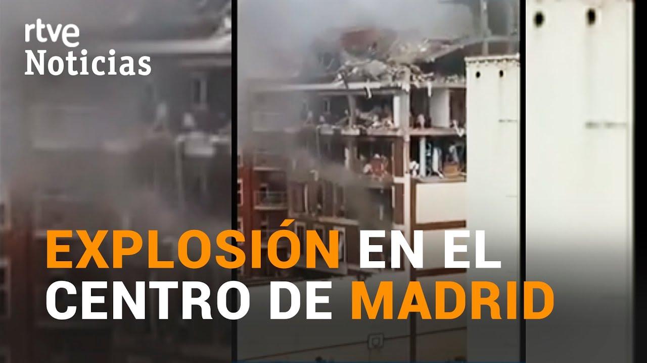 La FUERTE EXPLOSIÓN de la CALLE TOLEDO de MADRID deja al menos 3 MUERTOS y 1 DESAPARECIDO   RTVE