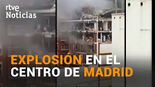 La FUERTE EXPLOSIÓN de la CALLE TOLEDO de MADRID deja 4 MUERTOS y 10 HERIDOS  | RTVE