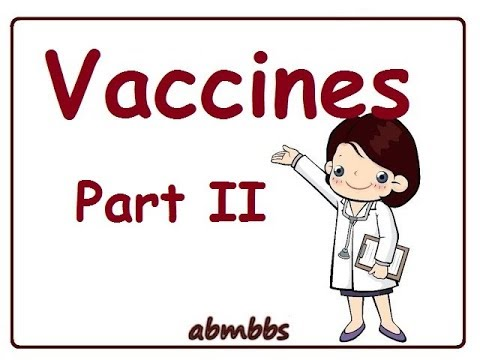 Vaccines Part 2 Community medicine