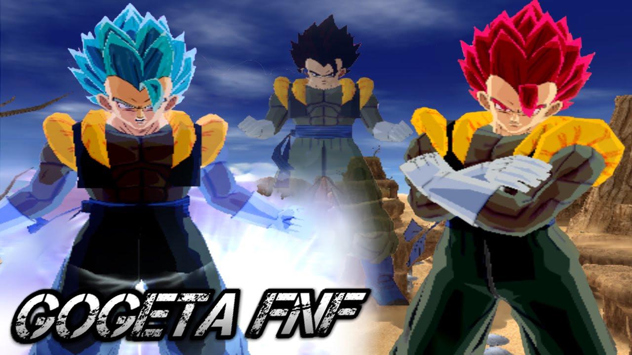 Gogeta FNF   fusion Goku y Vegeta  DBZ Budokai Tenkaichi 3 ZhiendZ