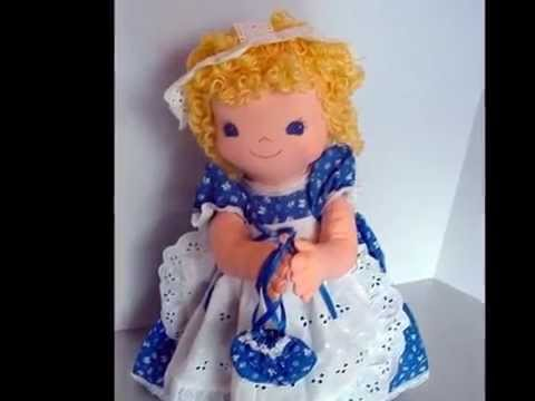Peek-A-Boo Porch Soft Cloth Doll Patterns, Easy to Sew Doll Patterns ...