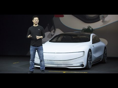 Thumbnail: Faraday Future Unveils 1,050bhp Electric Car FF91 at CES 2017
