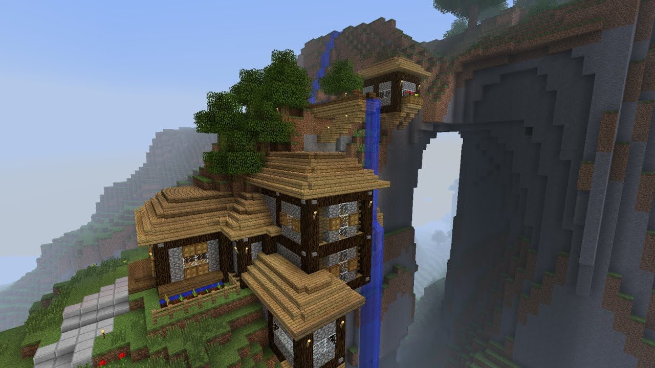 I MADE MY OWN MOUNTAIN HOUSE